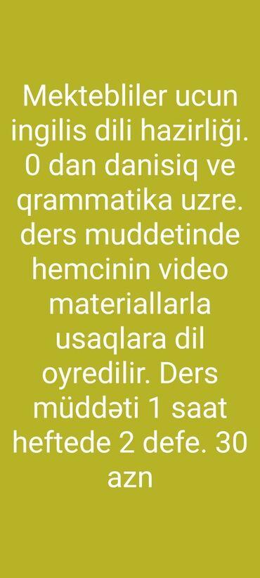 kurs - Azərbaycan: Xarici dil kursları | İngilis dili | Böyüklər üçün, Uşaqlar üçün | Diplom, sertifikat, Abituriyentlər üçün