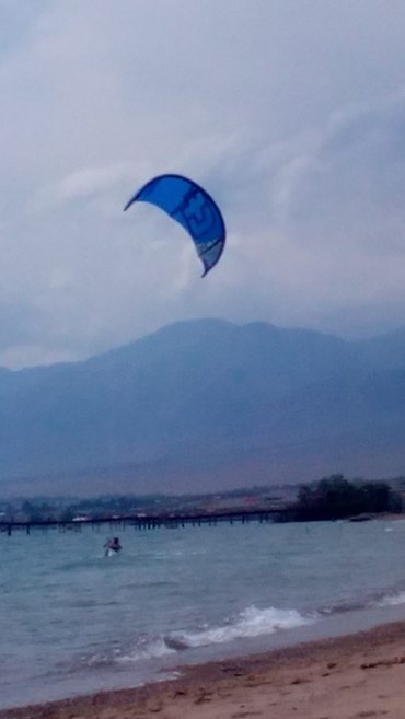 Кайт Crazy Fly 14m2 стропы трапеция борт насос сумка конкретным уступ