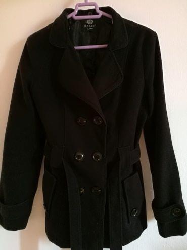 Crni kaput - Srbija: Crni (ima kapuljacu) i sivi elegantan kaput.Velicina L