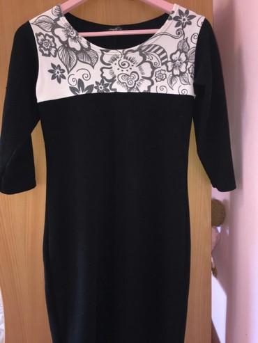 •haljina tri-cetvrt rukava •velicina: M/L •cena:700 rsd - Subotica