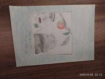 Crtež olovka grafika.Autorsko delo Ivana Jovanović. Crtež je radjem na