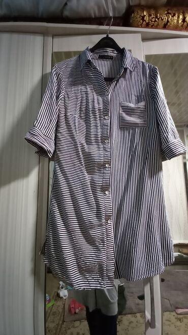 Продаю женскую рубашку 46 размер б/у 150 сом