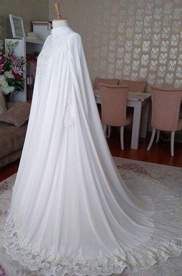 Личные вещи в Азербайджан: Islami Gelinlik Boydan boya duz olan Don tipinde bir Gelinlik. 1 defe
