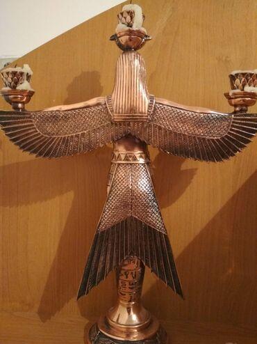 Продаю статуэтку ангела древнего Египта из чистой меди