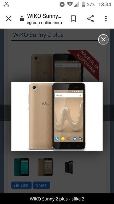 Mobilni telefoni - Prokuplje: Wiko suny 2plus 3000 din hitno javiti se na viberu