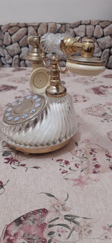 атоми цены в сомах в Азербайджан: Настольный домашний телефон.цена договорная
