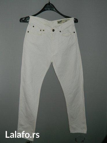 Ženske nove bele pantalone, vel. 27 - Sabac