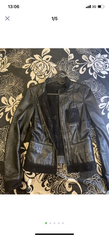 Продаю куртку чисиая кожа. 5000 сом. Турция. Кожа мягкая