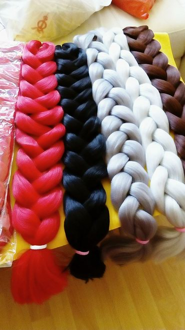 Prodajem kosu za Africke kikice 165 grama duga je 2 metra iz Uvoza - Belgrade