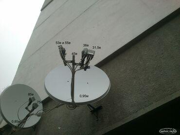 профессиональную видео камеру в Кыргызстан: Настройка спутниковых антенн в ку диапазоне. 70.5. 75. 85. 90 градусы