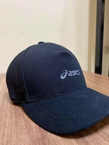 Новая мужская кепка Asics черный. Качество отличное. Доставка по
