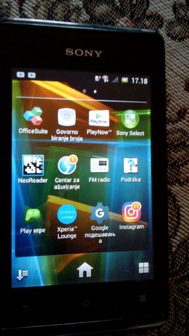 Mobilni telefoni - Loznica: Telefon Sony u ispravnom stanju sve radi radi na sve mreže koristen