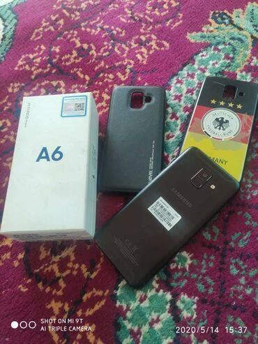 Samsung galaxy a6 в отличном состоянии комплект полный имеется коробка