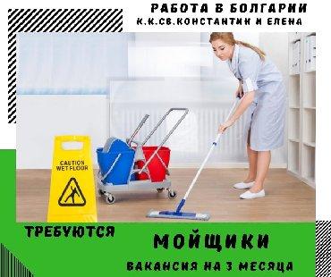 Работа мойщик в болгариикк св. константин и еленаВакансия на 3