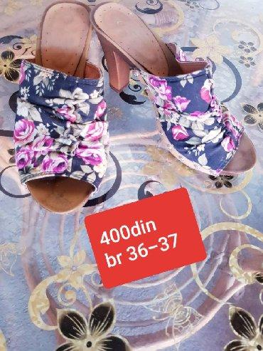 Ženska obuća | Novi Becej: Papuce na stiklicu broj 36 37 cena 400din