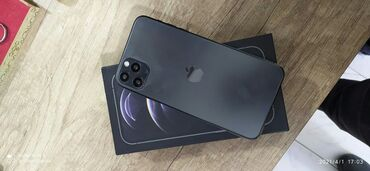 IPhone 12 Pro Max | 64 GB | Boz (Space Gray) | Yeni | Face ID