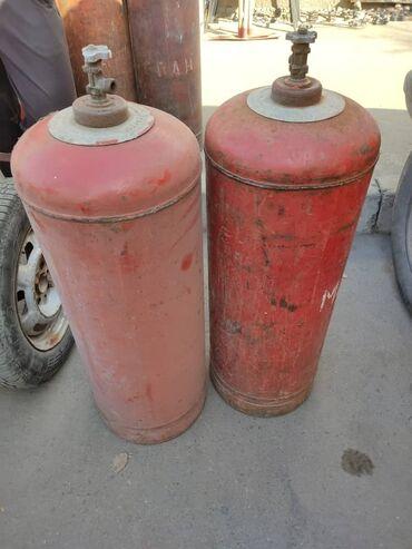 Газ баллон заправка - Кыргызстан: Продаю газ балон с газом! 50литр !  Есть доставка по городу бесплатно!