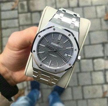 Bakı şəhərində Kişi Gümüşü Dəbli Qol saatı