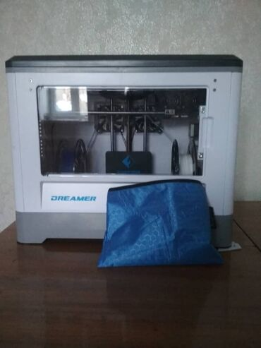 sovmestimye-raskhodnye-materialy-gonkong-abs-plastik в Кыргызстан: Продаю 3D принтер Flashforge Dreamer НовыйДве печатающие головки (