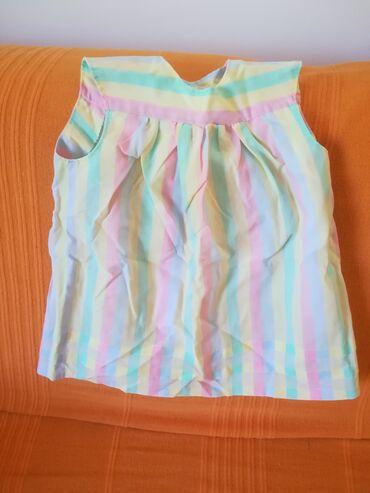 Letnja haljinica za bebe do 1 godine, obim ispod pazuha 60 cm, dužina
