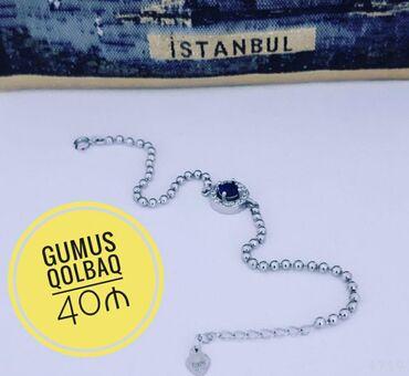 Gumus Qolbaq - 40 ₼ Metrolara pulsuz catdirilma