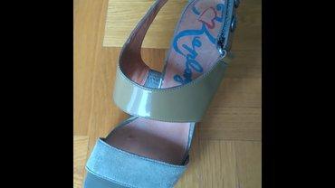 Maslinasto zelene sandale,replay,br. 38,nosene svega dva puta,kao - Novi Sad
