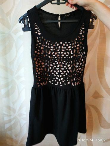 Bakı şəhərində Платье черное новое размер 36    S  ткань полиэстр с сайта ASOS