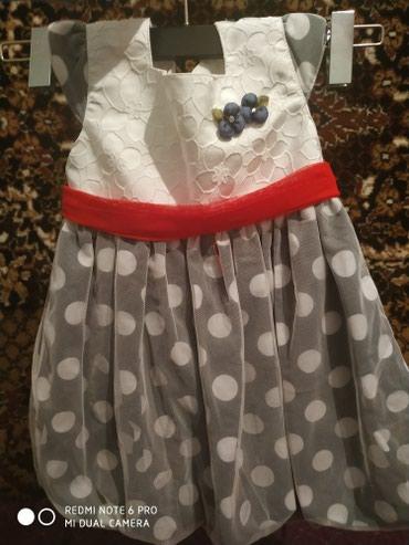 Платье для девочки 2-3 годика, очень хорошее состояние в Бишкек