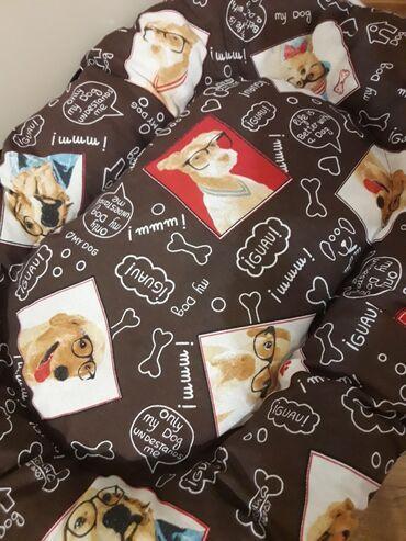 Suknjacine materijal - Srbija: Krevet / jastuk za pseJastuk i krevetić u jednom. Stranice možete