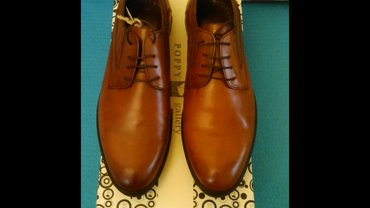 Туфли мужские, из натуральной кожи, в Bakı