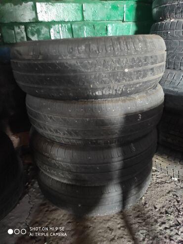 б у резина летняя в Кыргызстан: Резина 80процентов протектор195.65.15.япония,оригинал
