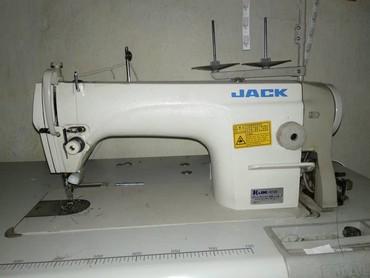 моторы для швейных машин в Кыргызстан: Продаю швейные машины Б/У 1 штук марка Jack звучные с мотором за 950