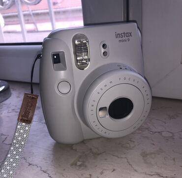 Foto və videokameralar - Azərbaycan: Ani çap fotoaparatı Fujifilm Instax mini 9. Bir ay istifadə etmişəm, a