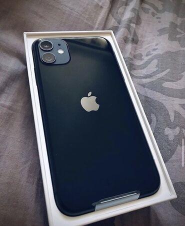 айфон 11 цена в бишкеке в Кыргызстан: Б/У IPhone 11 64 ГБ Черный