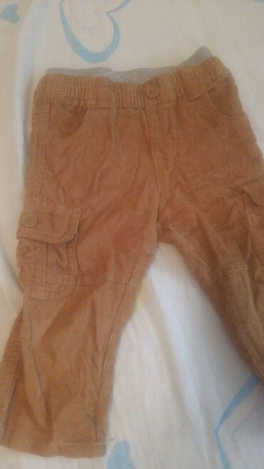 Крутые вельветовые джинсики на 1-1.5 года горчичного цвета. Таиланд