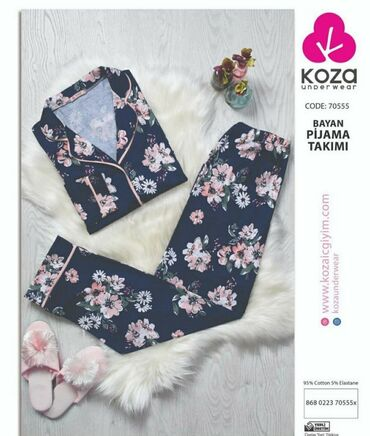 Супер стильная пижама в наличии от Турецкого производителя Koza