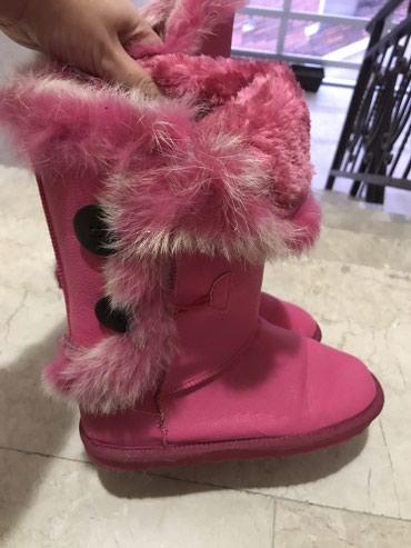 Roze pink cizme tople postavljene broj 36, mogu na 2 nacina da se nose - Knic