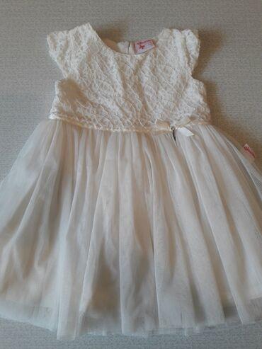 платье миди для беременных в Кыргызстан: Красивое нежное платье от 1.5 до 3-х лет, пр-во Турция, двойной