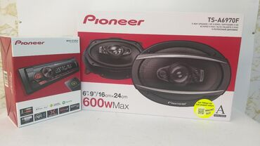 Pioneer orijinal maqnitafon ve kalonka 600 wat Ela ses effekti
