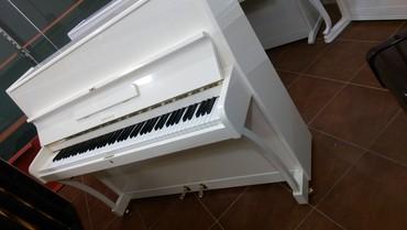 Bakı şəhərində Almaniyaiya istehsalı pianino- ağ, qara, fil dişi ve şabalıdı