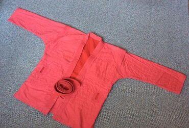 тренировки по боевому самбо в Кыргызстан: Кимоно для самбо 48 размер+ шорты с поясом . Состоит полностью из