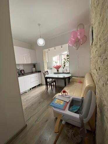 снять частный дом долгосрочно в Кыргызстан: 106 серия, 1 комната, 40 кв. м Теплый пол, Лифт, С мебелью
