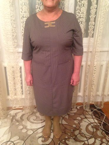 Турецкое фирменое платье размер 54 . в Бишкек