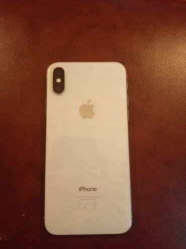 Б/У iPhone X 256 ГБ Белый