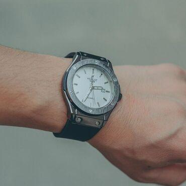 yamaha купить в Кыргызстан: Купи часы +кашелек в ПОДАРОК Мужские часыБренд: H U B L O T• Кварцевая