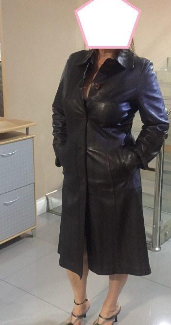 термо одежда бишкек в Кыргызстан: Одежда Плащ кожаный,размер 48-50