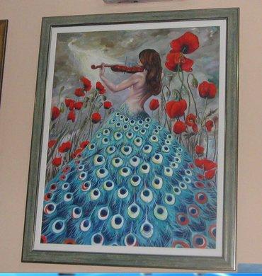 Ulje na platnu 100x80 cm ,,originalno, autorsko, kupujete od autora - Smederevo