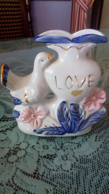Vaza porcelanska za cvet..vis..12cm.. - Kraljevo