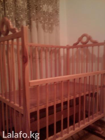 Детская кровать. деревянная