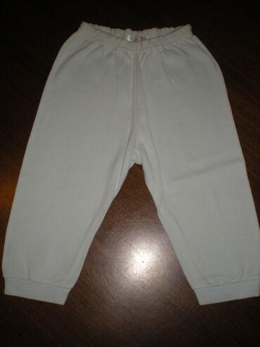 Pantalonice - Srbija: PANTALONICEPamučne pantalonice pastelno plavo-tirkizne boje, broj 68